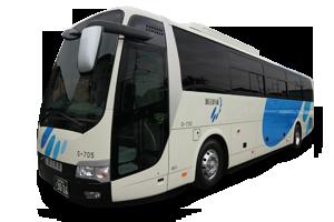 28年8月に納車された大型観光バス(55人乗り)